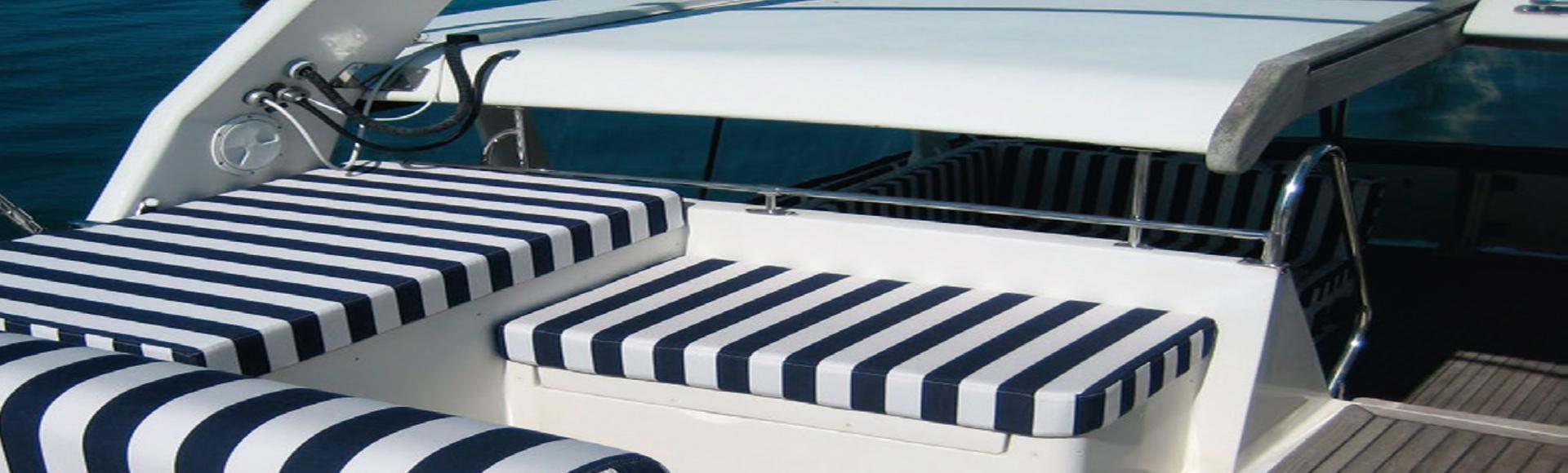 Het interieur van uw boot!